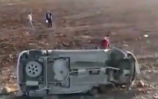Urfa'da Trafik Kazası 4 Kişi Yaralandı