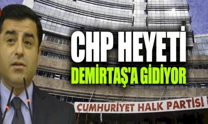 CHP Demirtaş'ın Sağlığı İçin Heyet Gönderiyor