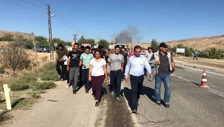Hasankeyf İçin Yürüyen Hdp'liler Gözaltına Alındı