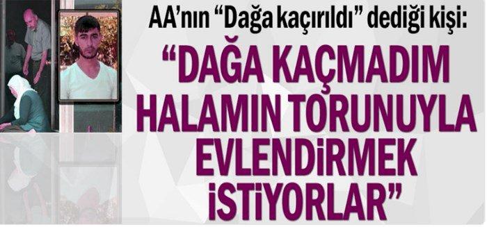 HDP Dağa Gönderdi Dedikleri Genç Açıklama Yaptı