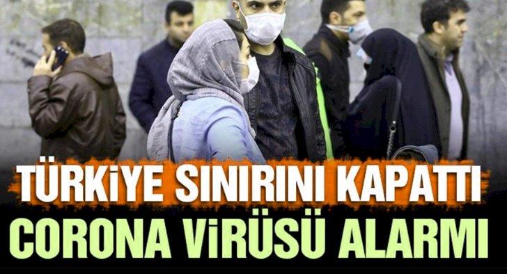 Türkiye Virüs Nedeni İle İran Gümrük Kapılarını Kapattı