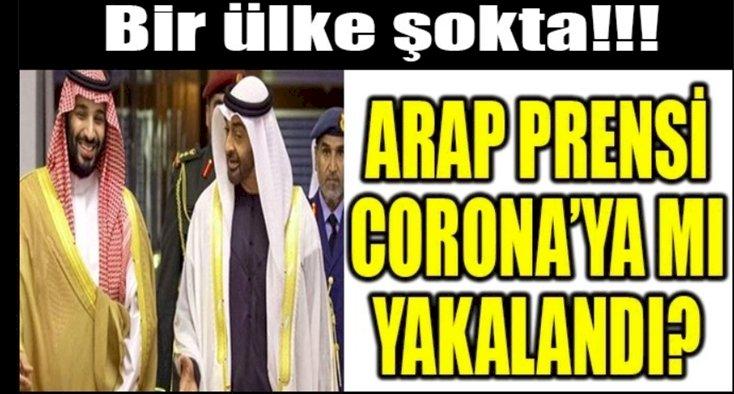 Prens Muhammed Bin Zayed'e Koronavirüsü Teşhisi Konuldu