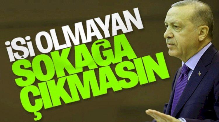 Erdoğan Koronaya Karşı 21 Maddelik Paketi Açıkladı